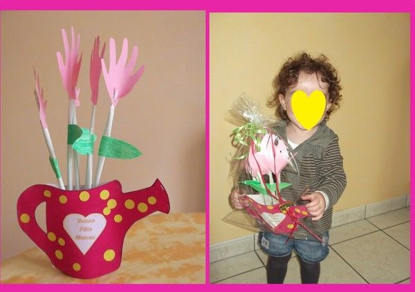 Vase Bouquet de fleurs Lola