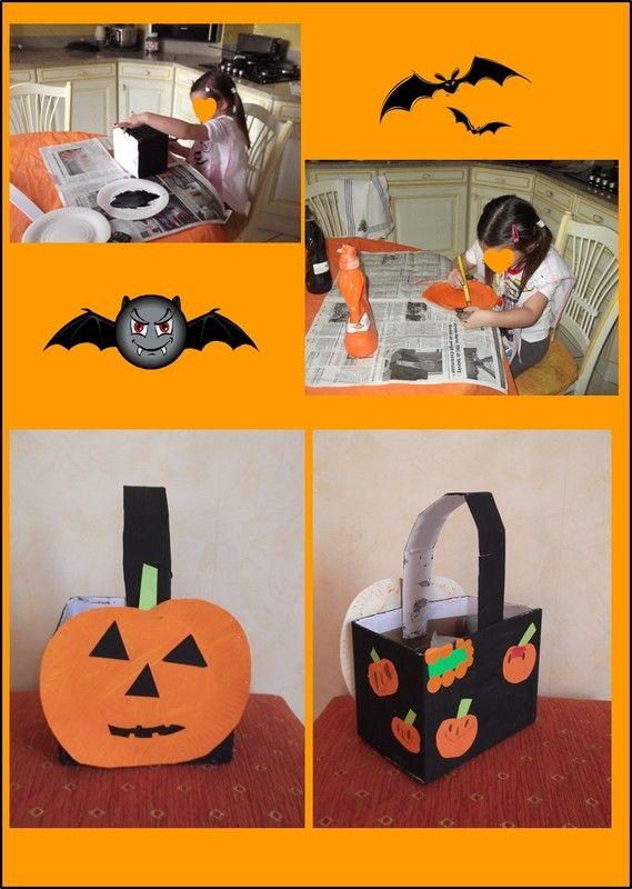 Bricolage halloween page 4 Bricolage maternelle halloween