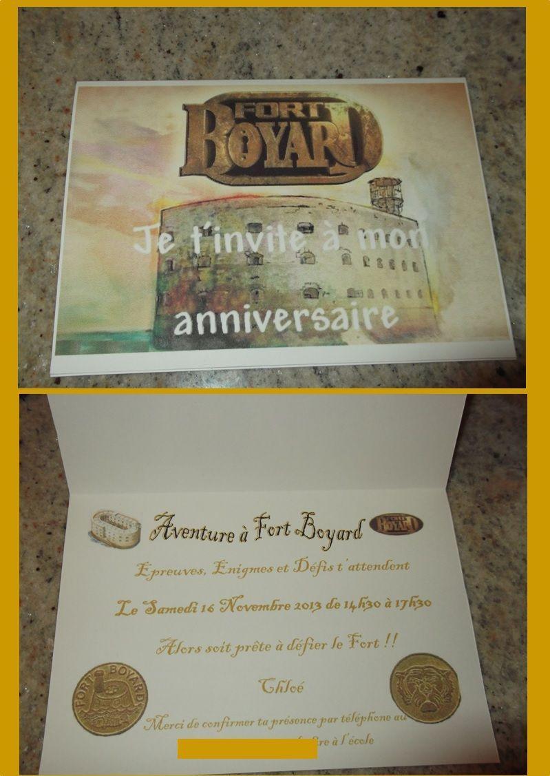 Anniversaire Chloé Thème Fort Boyard